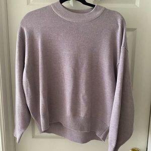 H&M Lavender Sweater